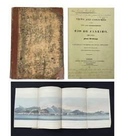 CHAMBERLAIN'S 1822 VIEWS OF RIO/SLAVERY.