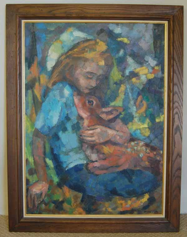 12: M.Willers oil on canvas