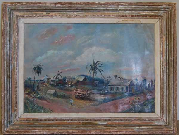 15: Arnold Blanch (1905-1983) oil on canvas