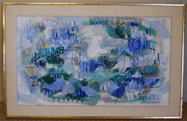 19: Suzy Frelinghuysen (1911- 1988) oil on board