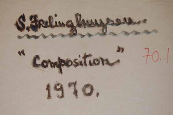 19: Suzy Frelinghuysen (1911- 1988) oil on board - 3