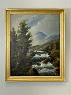 Adirondack Oil Painting of Mt. Marcy