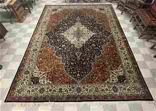 Hand Woven Wool Oriental Rug - 12' x 18'