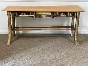 Fabulous Barney Bellinger Adirondack Sofa Table