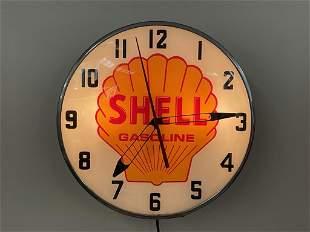Shell Gasoline Advertising Clock