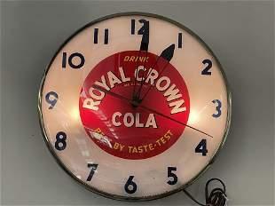 Royal Crown Cola Advertising Clock
