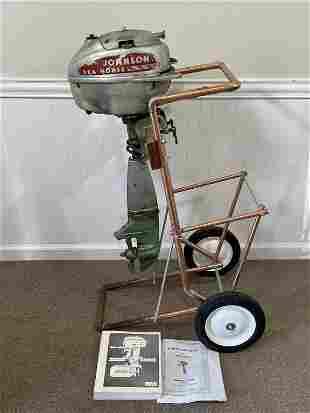 Johnson Sea Horse Small Vintage Outboard Motor