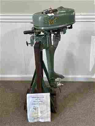 Elgin Air Cooled Outboard Motor