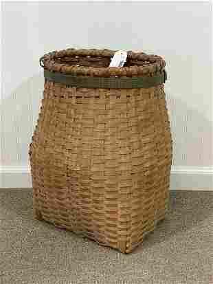 Adirondack Ash Splint Pack Basket