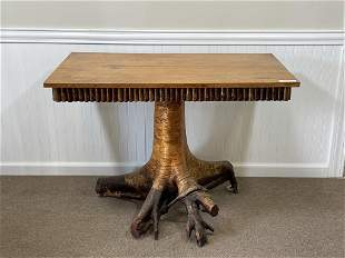 Lee Fountain Root Base Center Table