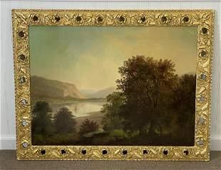 Hudson River School Landscape Painting