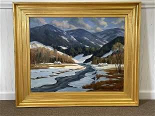 George Halloway New England Mountain Landscape