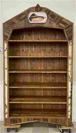 Michael Hutton Custom Built Rustic Shelving Unit