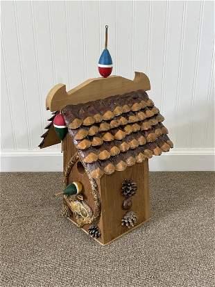 Michael Hutton Custom Rustic Bird House