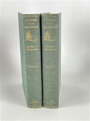 History of the Adirondacks, Vol. 1 and 2