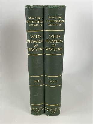 Wild Flowers of New York, Vol. 1 and 2 (1919)