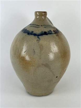 N. Clark Athens Ovoid Stoneware Jug