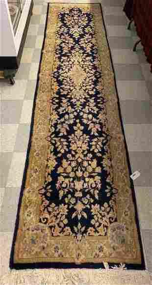 """Hand Woven Oriental Wool Runner Rug - 32"""" x 148"""""""