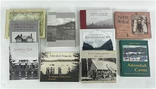 10 Adirondack Coffee Table & Reference Books