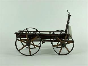 Salesman Sample Prototype Early Horse Drawn Wagon
