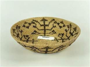 "Native American 10"" Coil Basket"