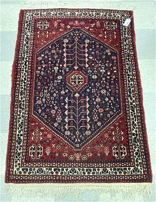 "Hand Woven Oriental Wool Rug - 42"" x 64"""