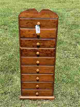 9 Drawer Country Cabinet