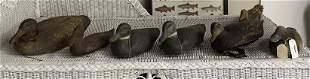 7 Vintage Duck Decoys