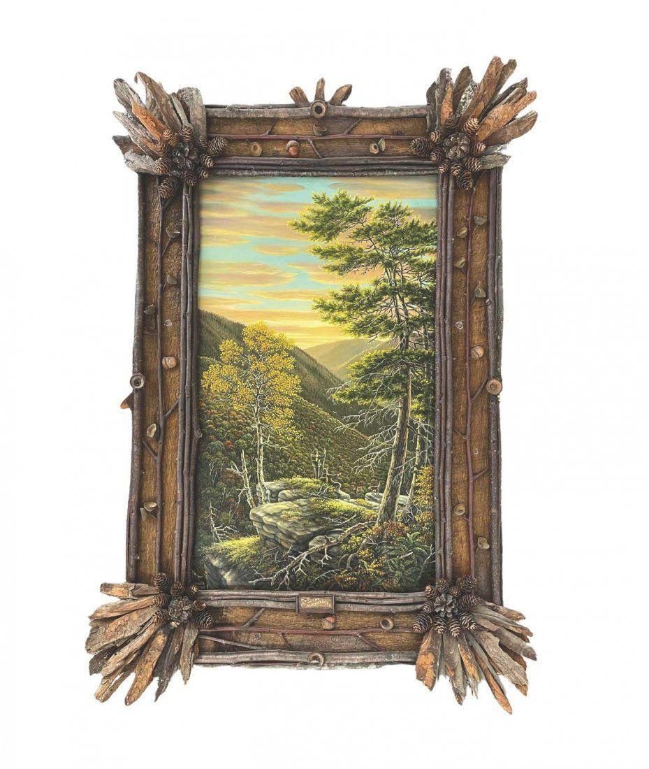 Veronica Nemethy Adirondack Oil Painting