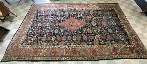 Bidjar Hand Woven Oriental Rug - 12' x 19'