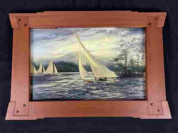 Rhea Haggart Costello Painting in Igantuk Frame
