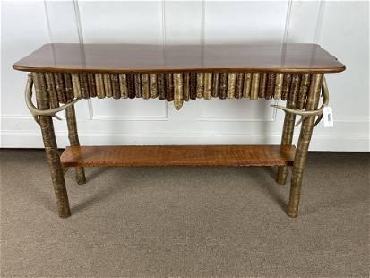 Eric Gulbrandsen Adirondack Sofa Table