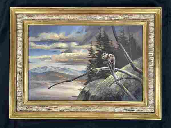 Gary Casagrain Adirondack Oil Painting