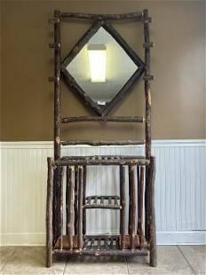 Old Hickory Entryway Mirror