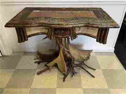Adirondack Root Base Table by Chris Wager