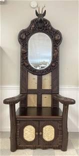 Jerry Farrell Adirondack Mosaic Hall Seat