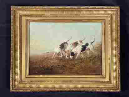 Edward Robert Smythe Oil on Canvas Painting