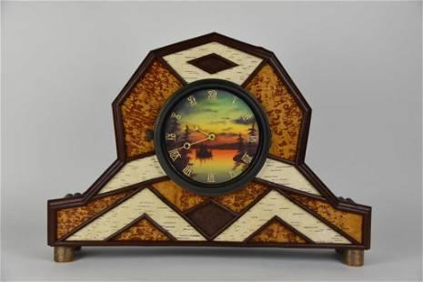Jessica & Jerry Farrell Mantel Clock