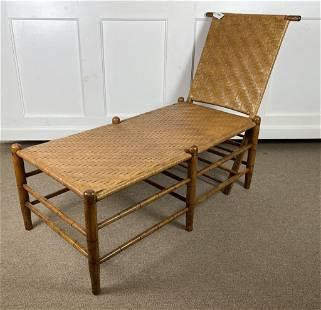 Mottsville Lounge Chair w/ Woven Seat & Back