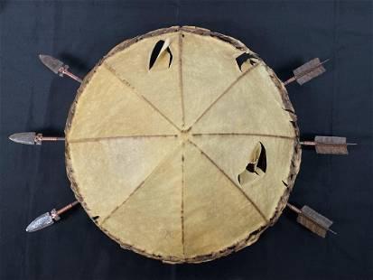 Southwestern Native American Ceiling Fixture