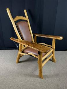 Freeform Contemporary Morris Chair by Goodspeed