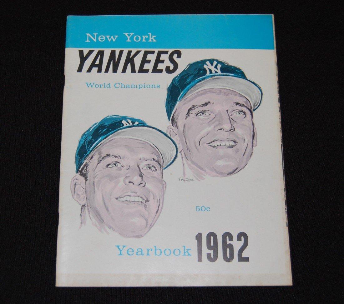 4: 1962 New York Yankees World Champions Yearbook