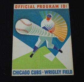 13: 1962 Chicago Cubs Official Program