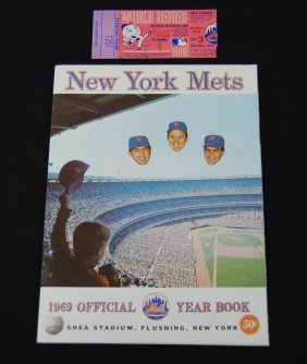 14: 1969 New York Mets Official Year Book