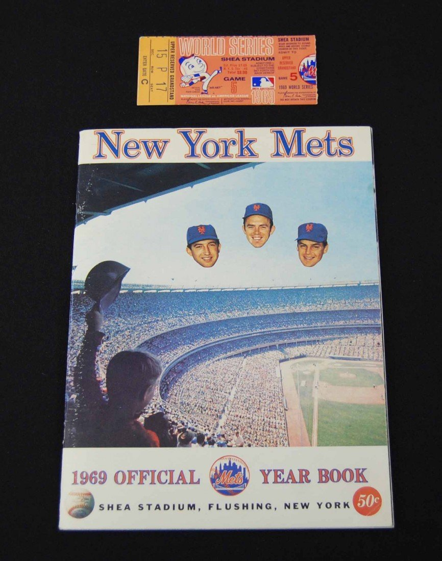 15: 1969 New York Mets Official Year Book