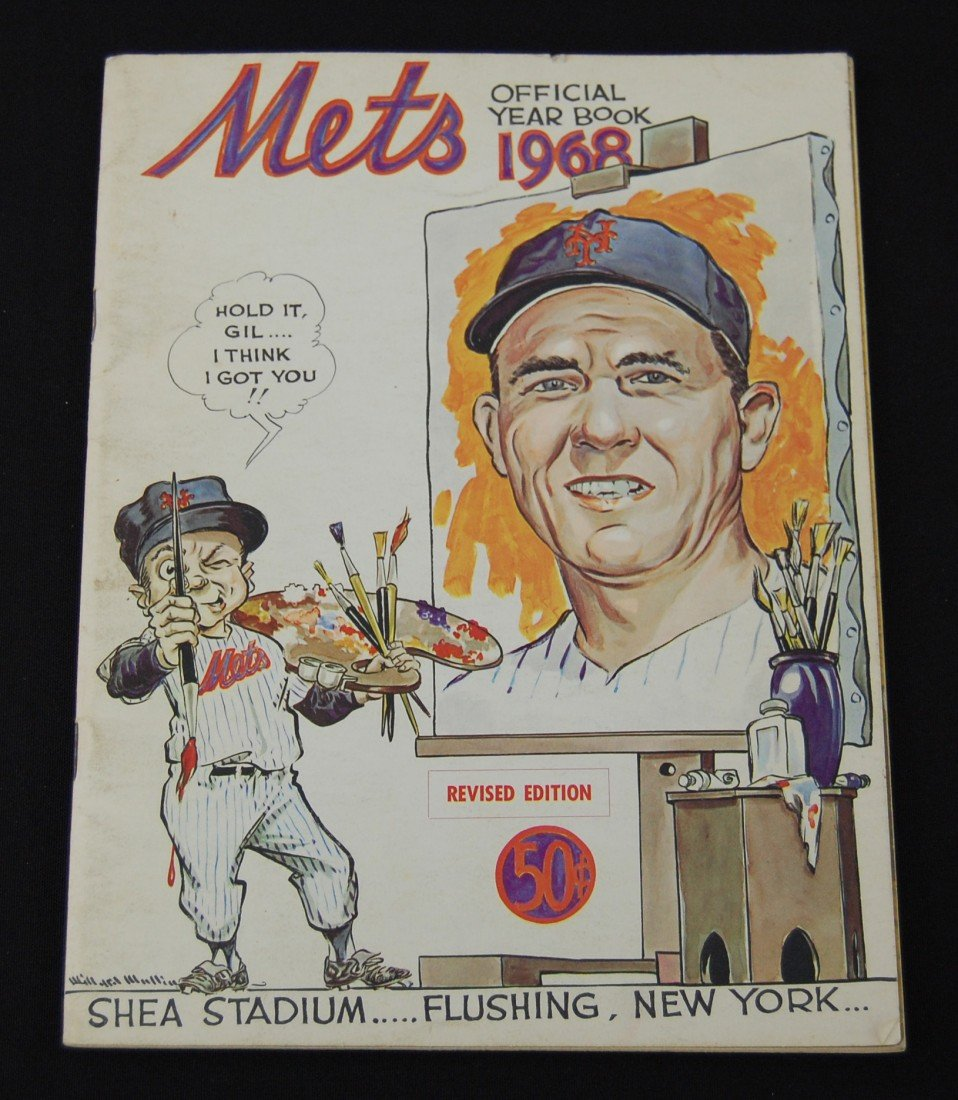 16: 1968 New York Mets Official Year Book