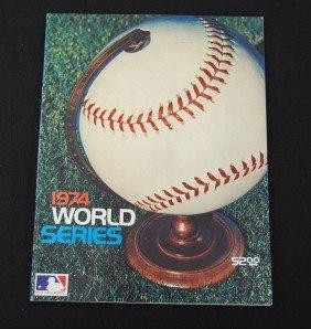 19: 1974 World Series Program