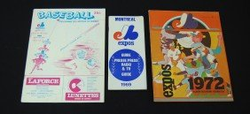 23: Montreal Expos Press Guide and Yearbook