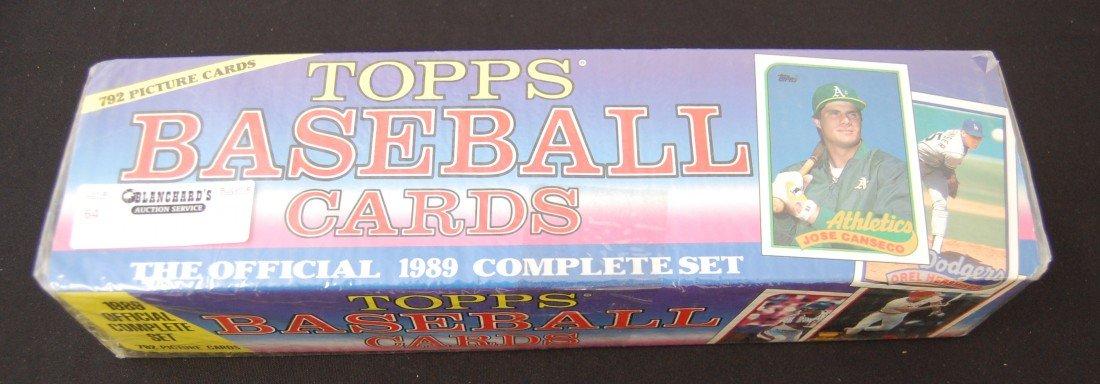 64: 1989 Topps Baseball Card Complete Set