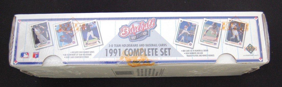 67: 1991 Upper Deck Baseball Card Complete Set - 2